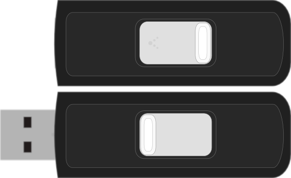 Sandisk Cruzer Micro clip art Free Vector / 4Vector.