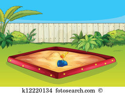 Sandpit Clip Art and Illustration. 358 sandpit clipart vector EPS.