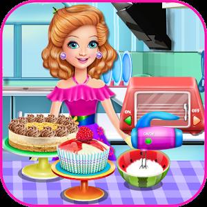 Sandra Cooking Desserts.
