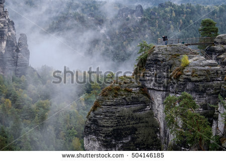 Elbe Sandstone Mountains Stock Photos, Royalty.