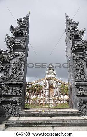 Pictures of Bali, Indonesia, Stone gates 1846788.