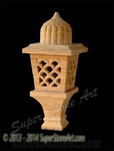 Lamp, Lanterns, Lanterns Supplier, Pink Sandstone Lanterns, Post.