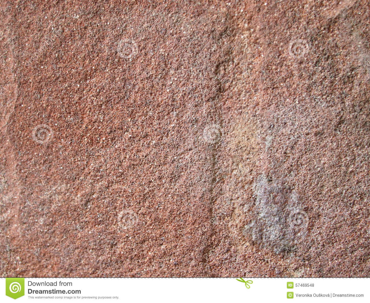 Detail Look At Arkosic Sandstone Stone Stock Photo.
