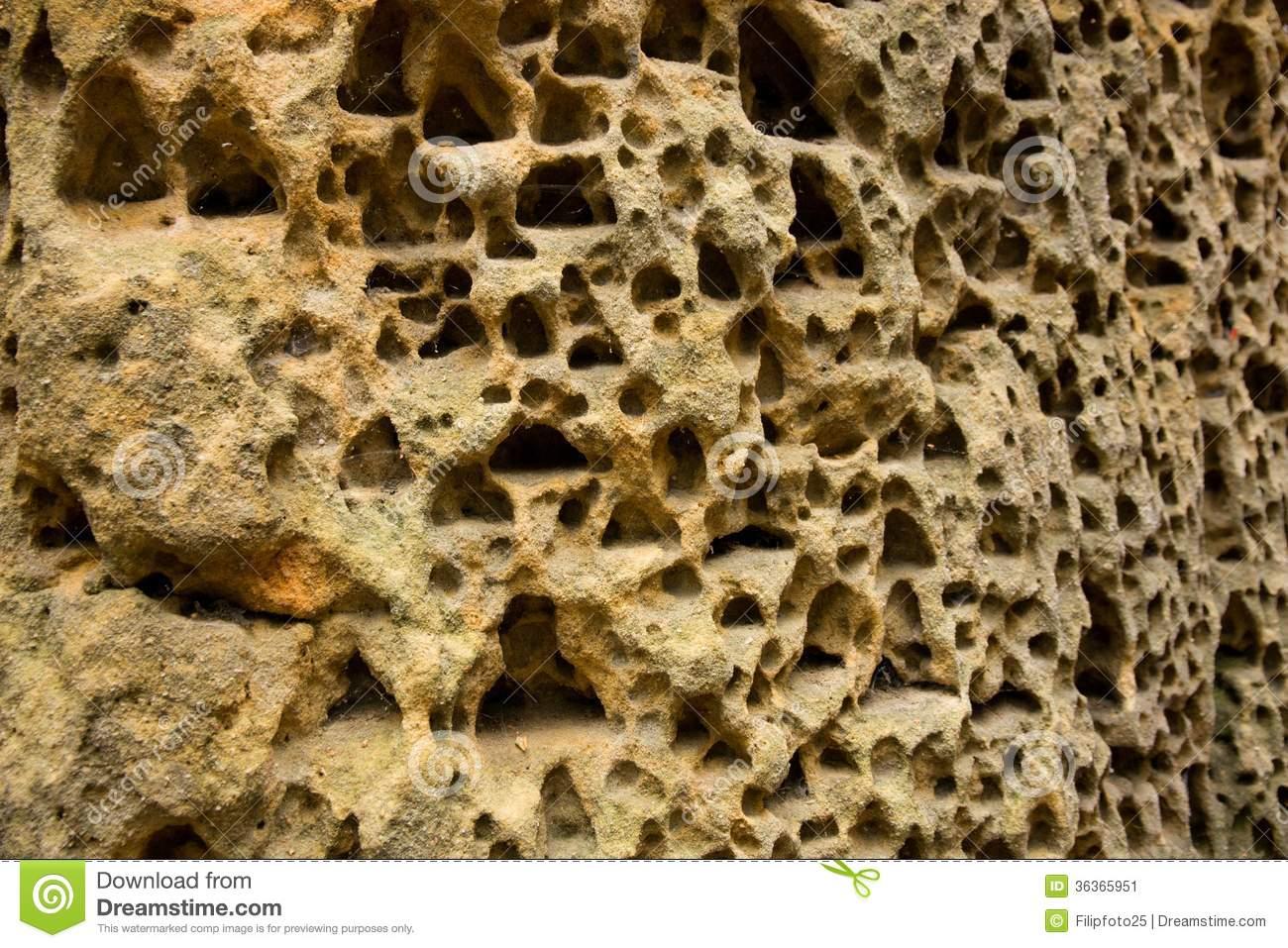 Sandstone Stock Image.