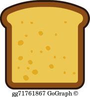Sandwich Bread Clip Art.