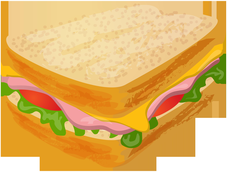 Sandwich Transparent PNG Clip Art.