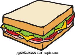 Sandwich Clip Art.