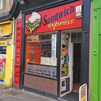 Sandwich Express, Leith, Edinburgh.