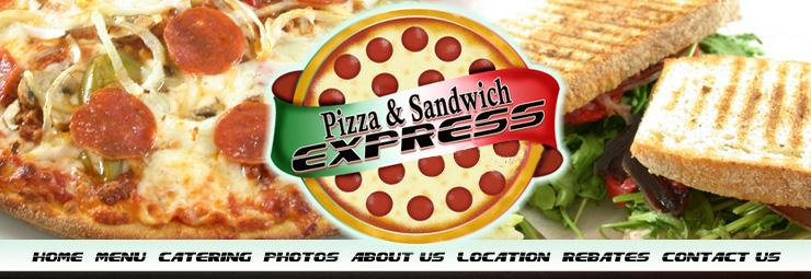 Pizza and Sandwich Express 59 Main Street, Little Falls, NJ 07424.