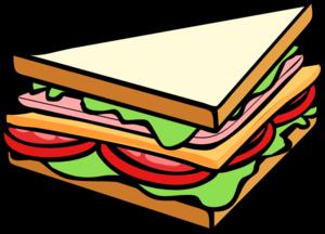 Sandwich Half Clip Art at Clker.com.