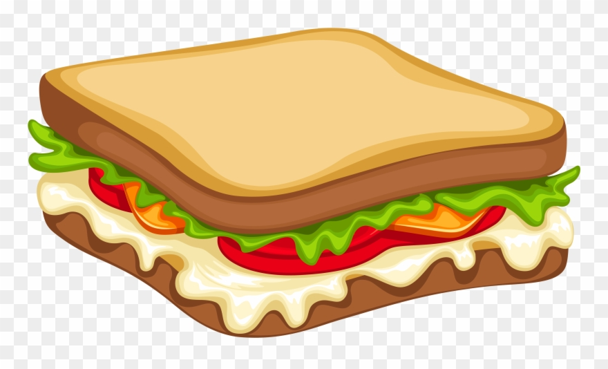Sandwich Png Clipart Vector Image.