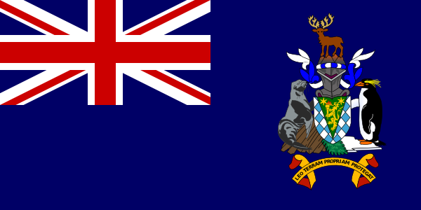 South Georgia And South Sandwich Islands clip art Free Vector.
