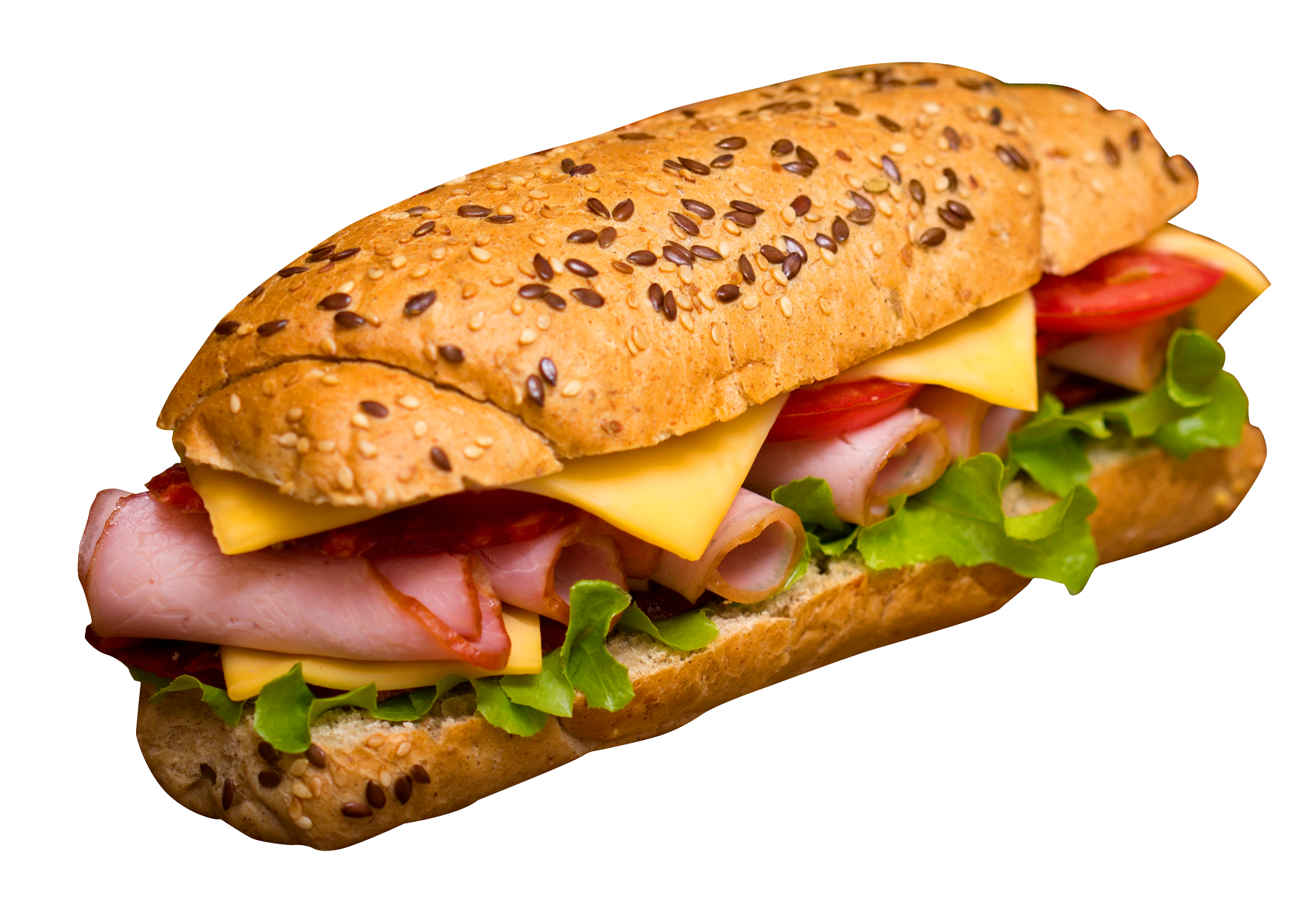 Sandwich PNG Transparent Image.