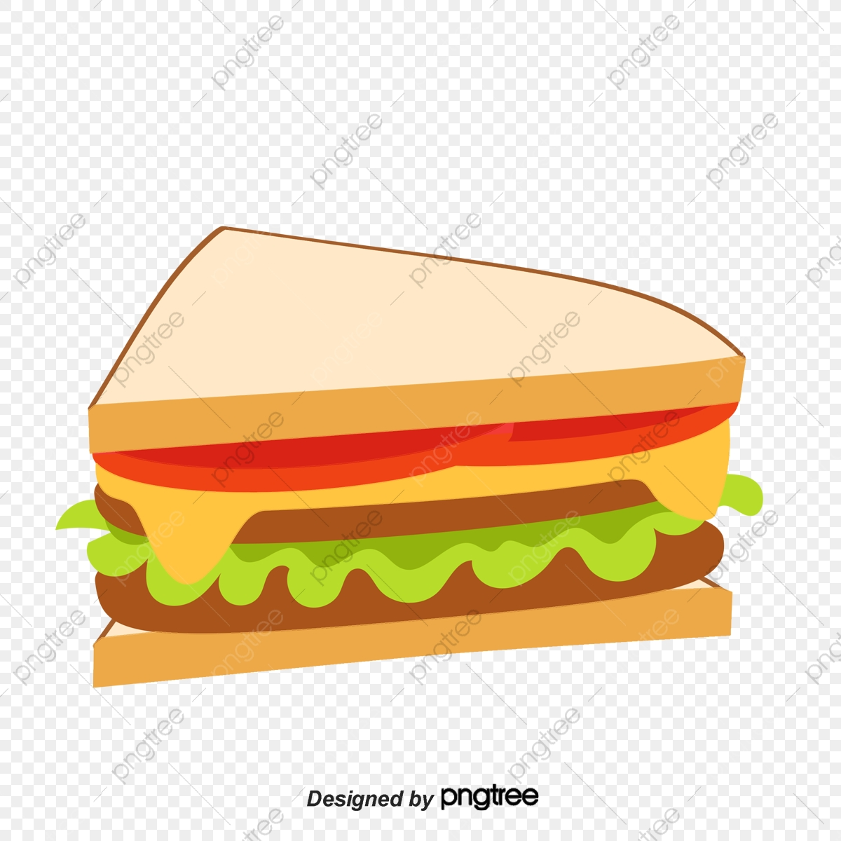 Sandwich, Sandwich Vector, Vector PNG and Vector with.