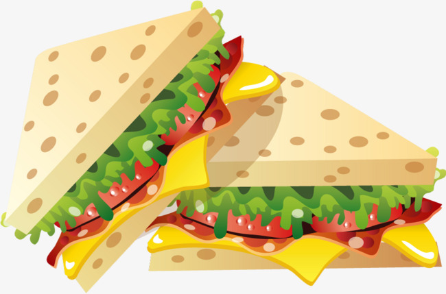 Download Free png Vector Sandwich, Vector, Bread, Sandwich.