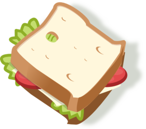 Sandwiches Clipart.