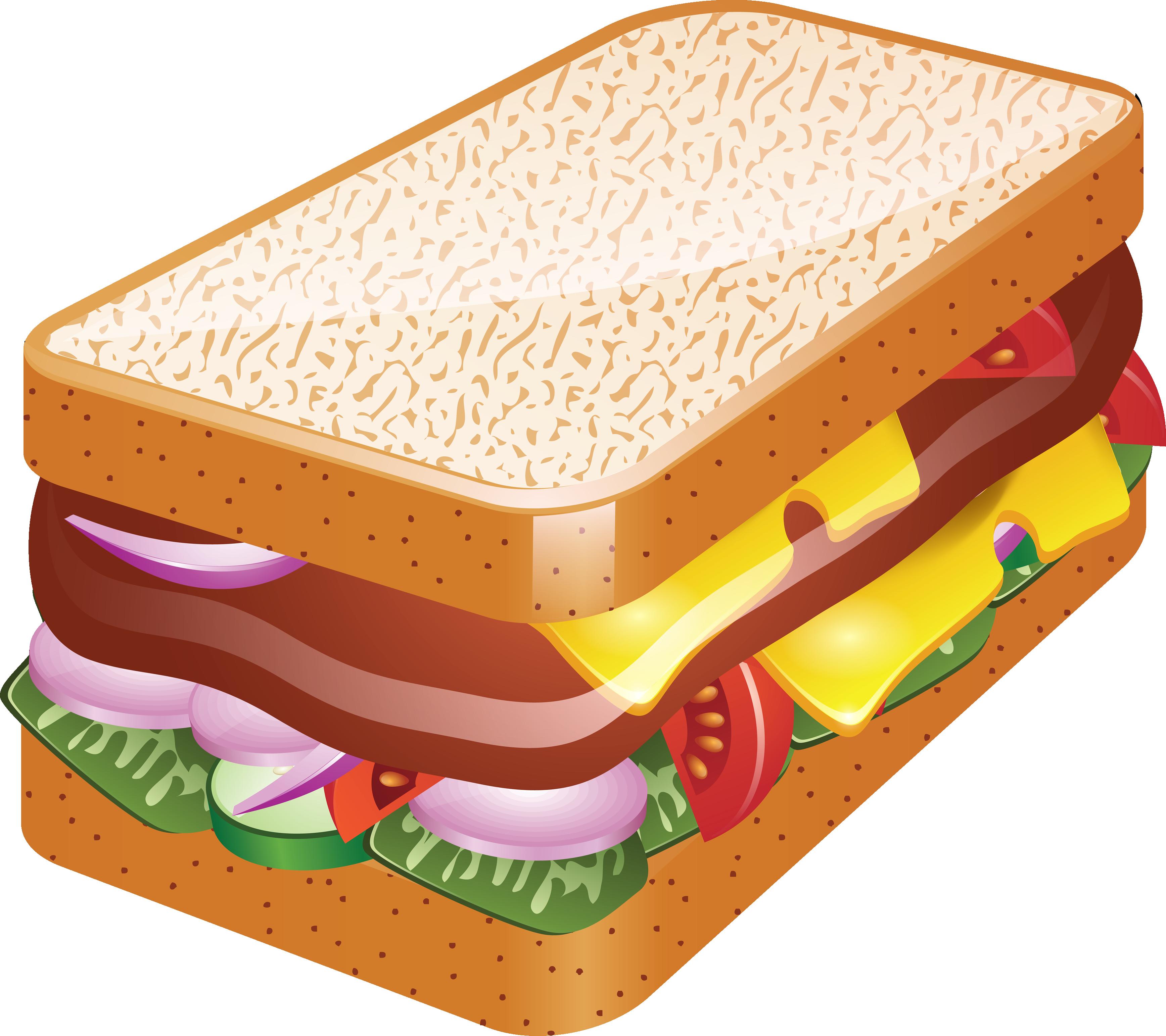 Sandwich Clip Art Free.