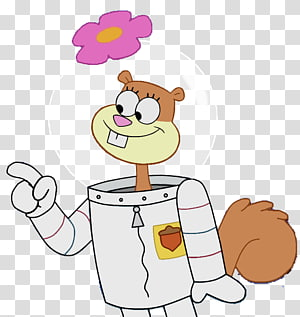 Sandy Cheeks PNG clipart images free download.
