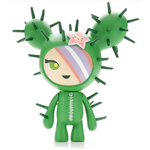 Tokidoki Cactus Friend Sandy Vinyl Figure.