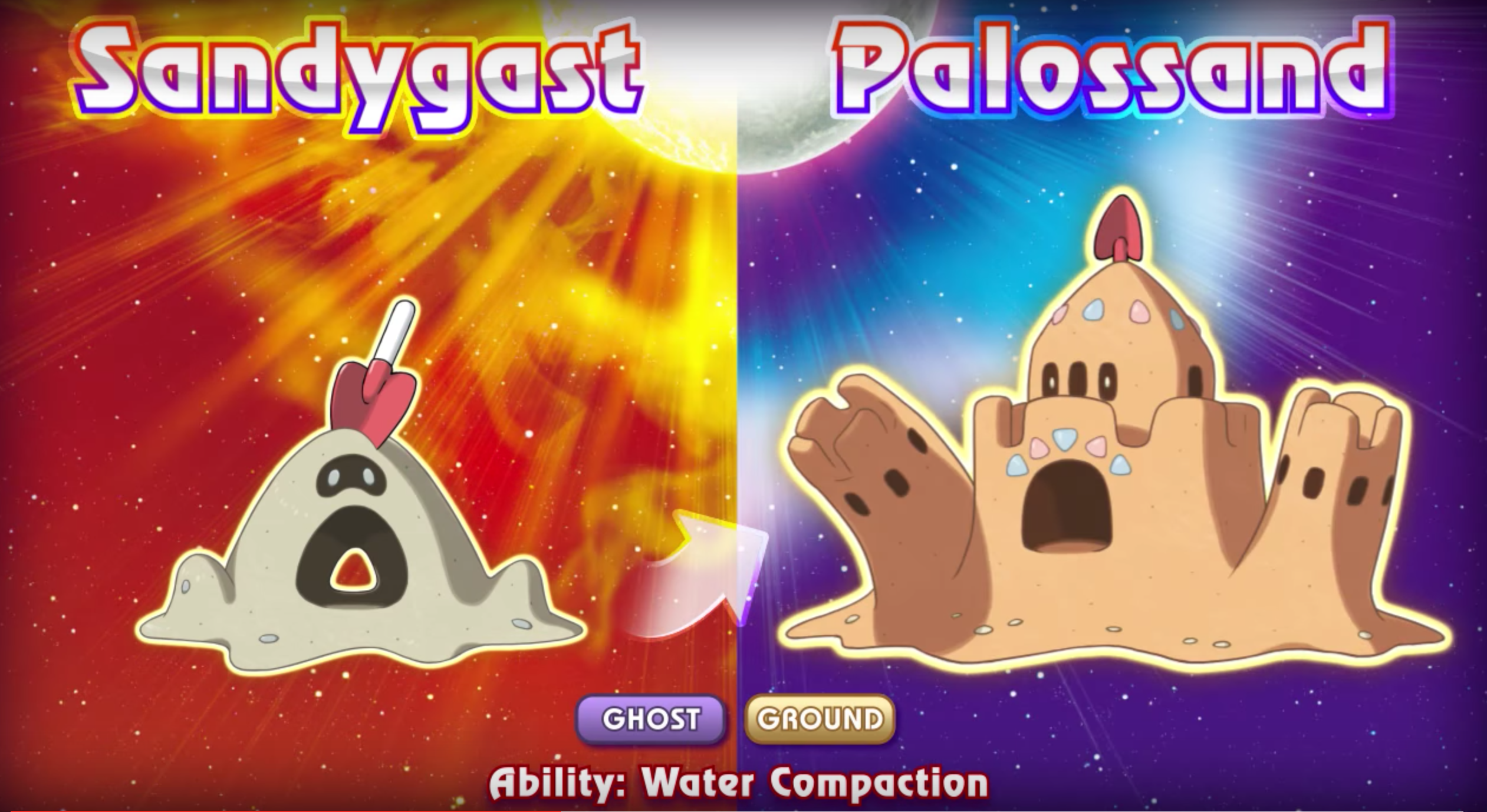 New Pokémon Sun and Moon trailer shows off Sandygast, Stufful and more.