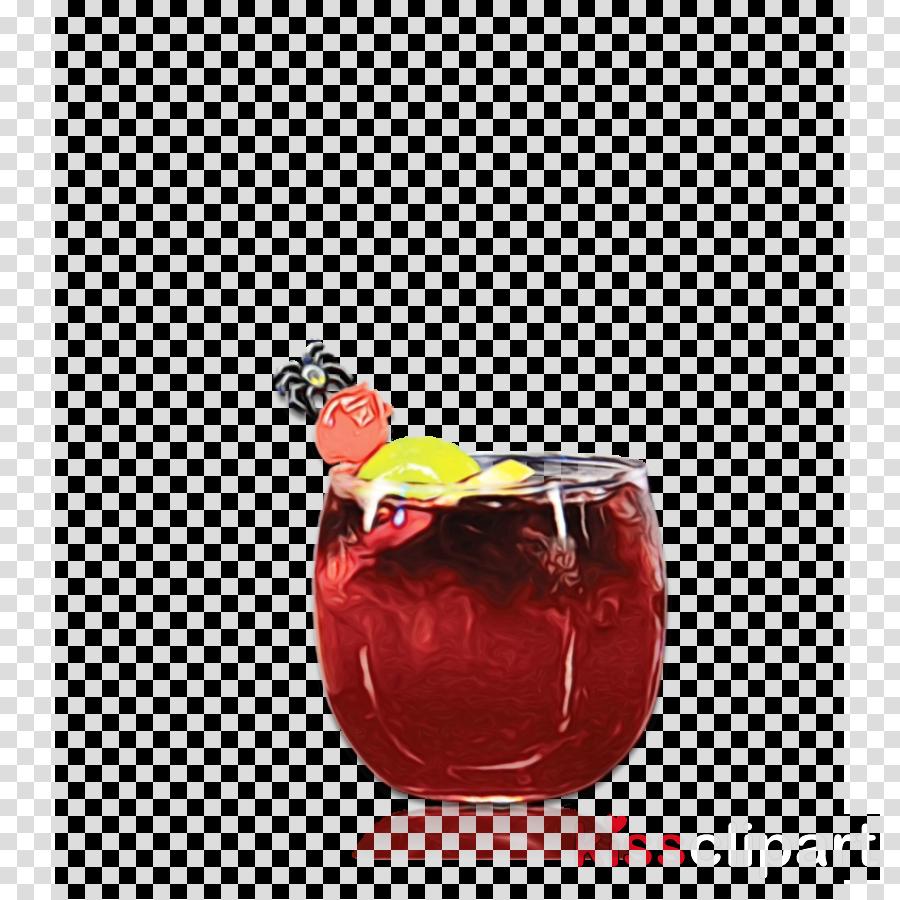 drink tinto de verano punch juice sangria clipart.