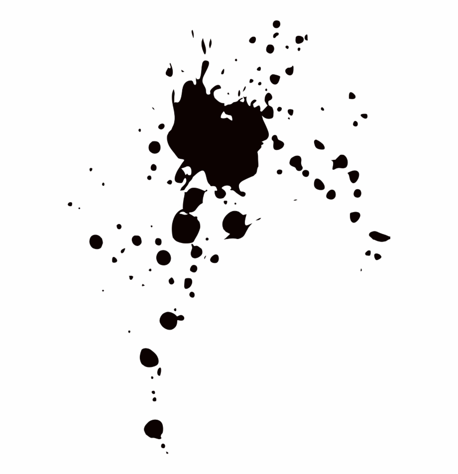 black #aesthetic #paint #splatter #splash.