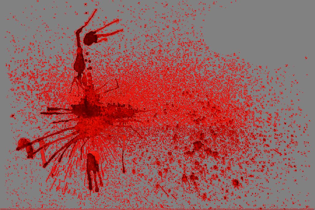 Pingos de sangue png 3 » PNG Image.
