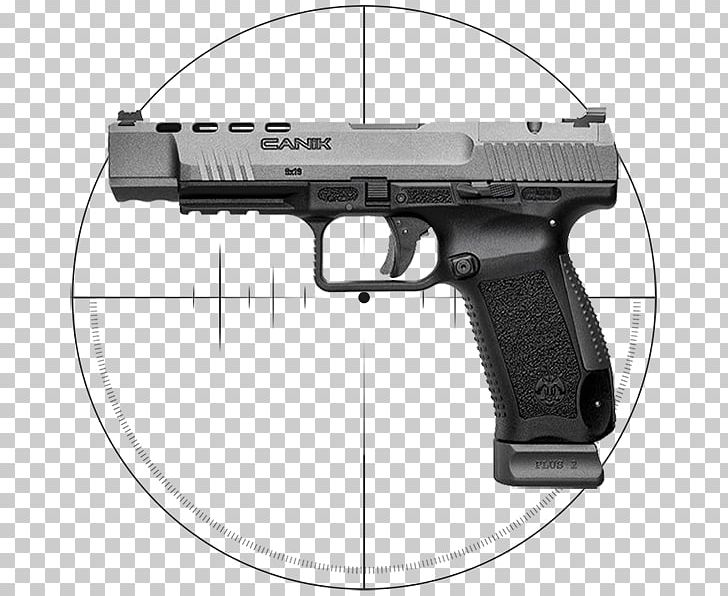 Canik Handgun Pistol Firearm Century International Arms PNG.