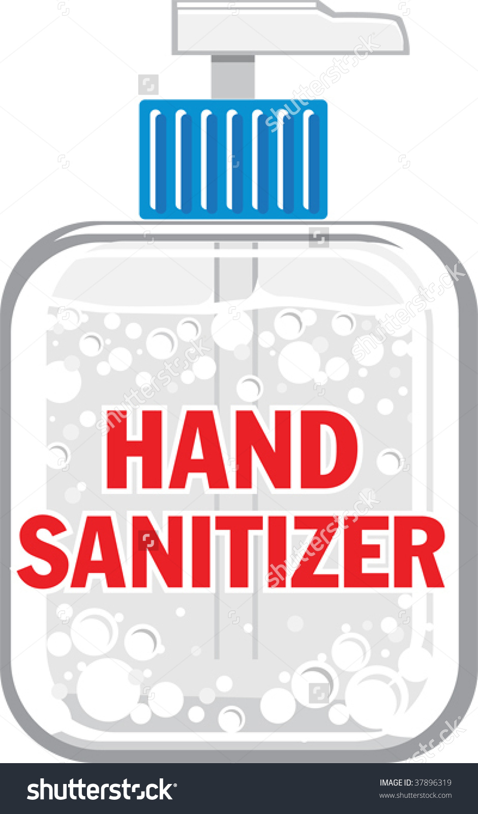 Free clipart hand sanitizer.