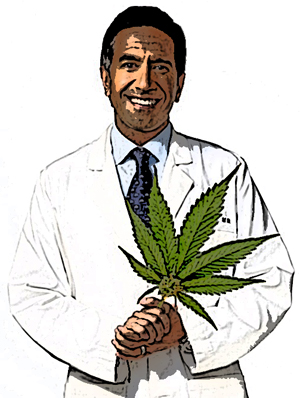 "Dr. Sanjay Gupta: ""I Am Doubling Down On Medical Marijuana""."