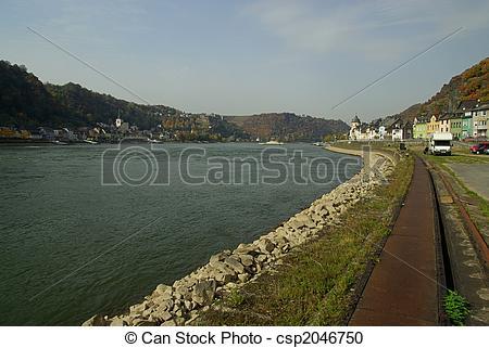 Stock Fotografie von goarshausen, sankt, 04.