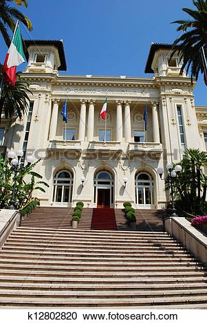 Stock Photography of San Remo casino k12802820.