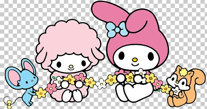 Hello Kitty My Melody Sanrio PNG, Clipart, Animal Figure.