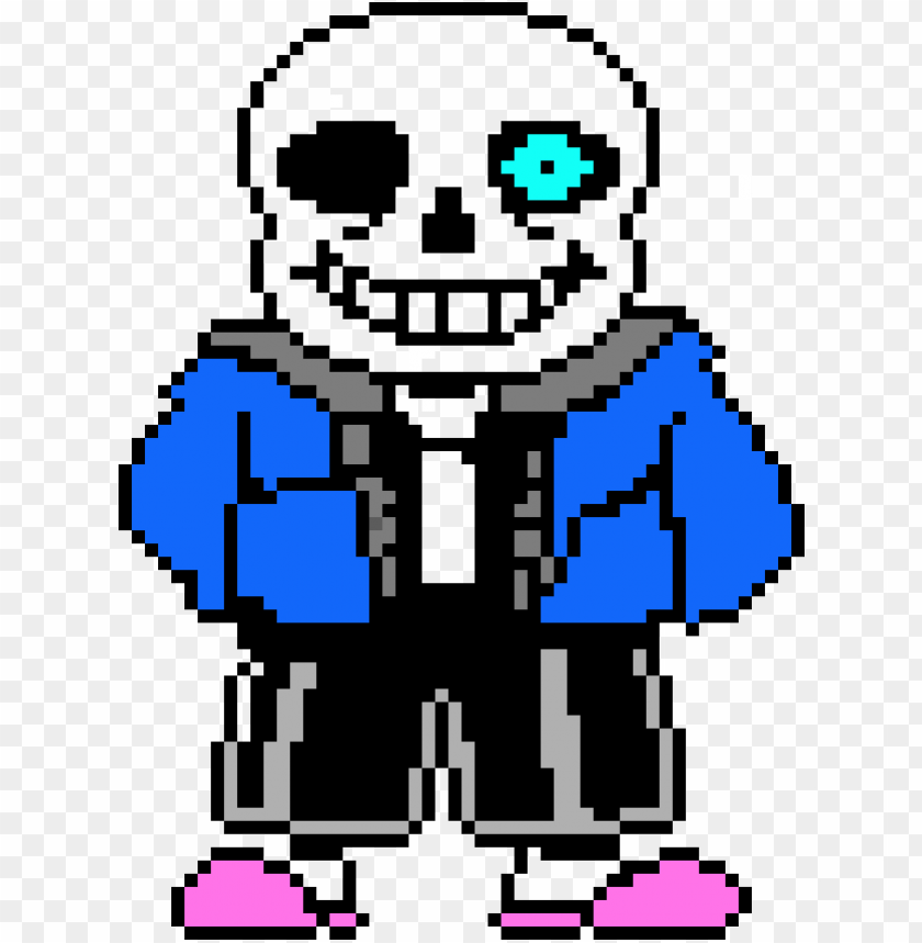 sans bad time eye PNG image with transparent background.