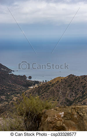 Picture of Santa Catalina Island Coastal View.