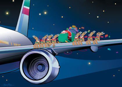 Free Christmas Airplane Cliparts, Download Free Clip Art.