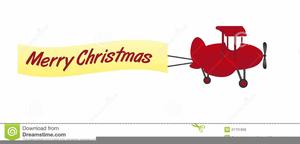 Santa Airplane Clipart.