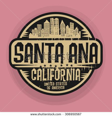 Clipart of city santa ana.