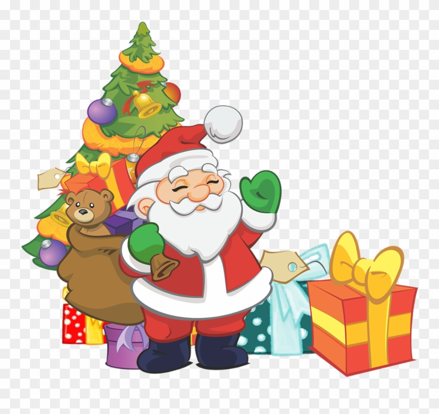 Free To Use Public Domain Santa Claus Clip Art.