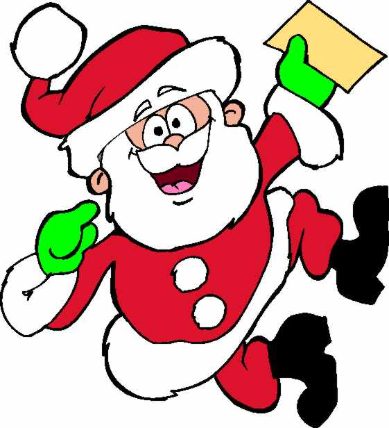 Images: Santa And Elves Clipart.