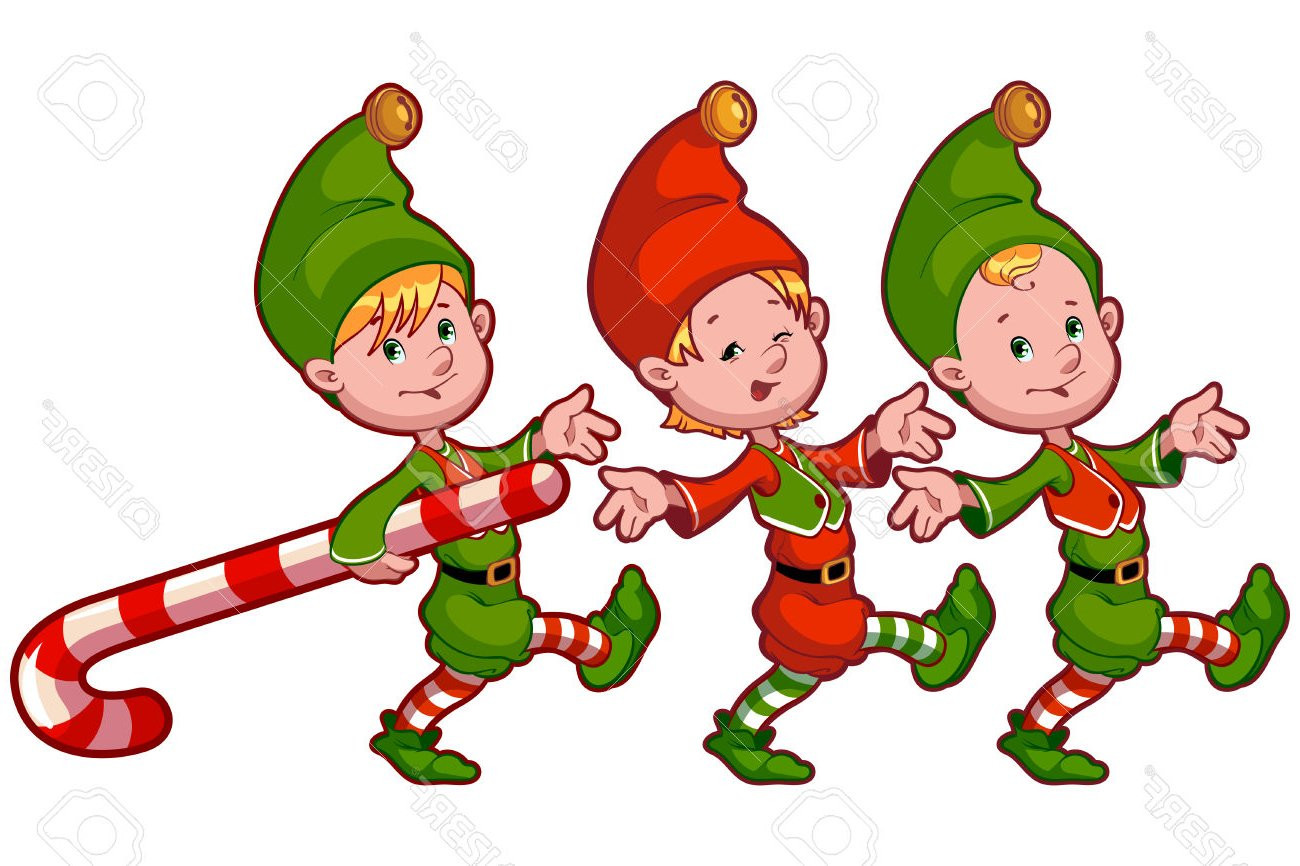 Santa And Elves Clipart at GetDrawings.com.