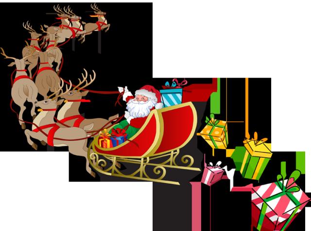 Santa And Sleigh Clipart & Santa And Sleigh Clip Art Images.