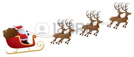 9,997 Santa Sleigh Stock Illustrations, Cliparts And Royalty Free.