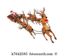 Santa sleigh Illustrations and Clipart. 1,940 santa sleigh royalty.