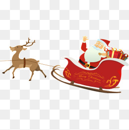Santa Sleigh Png & Free Santa Sleigh.png Transparent Images.