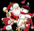Cute_Snowman_Santa_and_Kid_Clipart.png?m=1399672800.