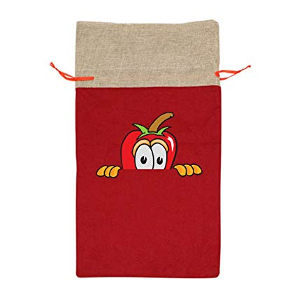 Amazon.com: CYINO Personalized Santa Sack,Chili Pepper.