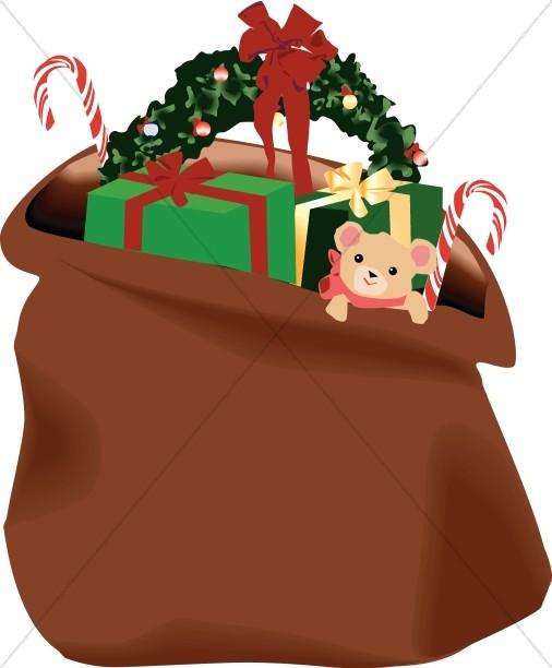 Santa\'s Bag of Presents.