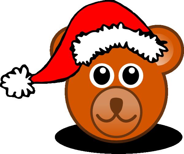 Santa Bear Clip art.