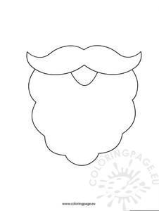 Santa Clause Beard Clipart.